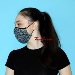 Mascherina Quick-Mask effetto ottico fianco