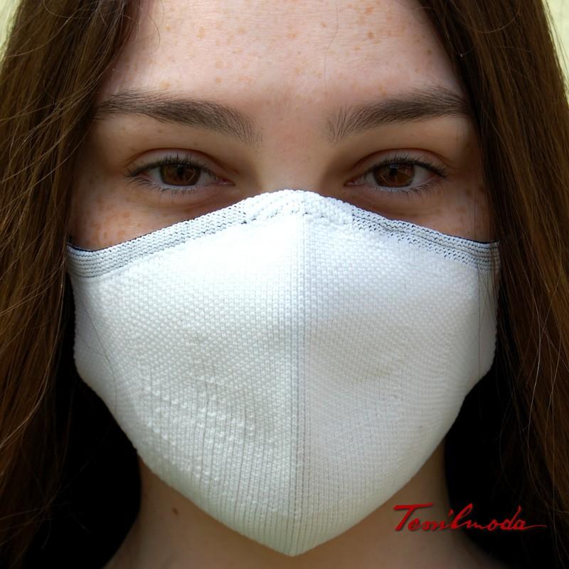 Quick-Mask colore bianco fronte