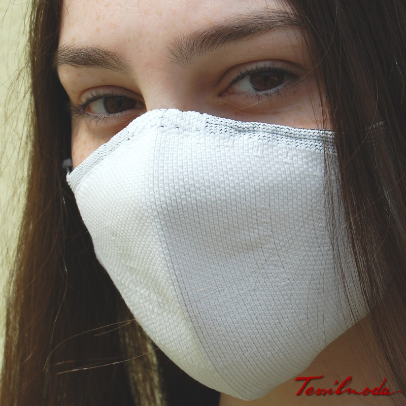 Quick-Mask colore bianco lato