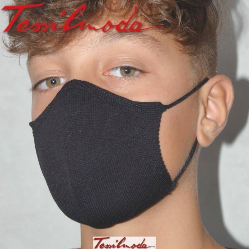 Quick-Mask-guys color nero dal fianco