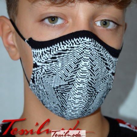 Quick-Mask-guys optical zebra fronte