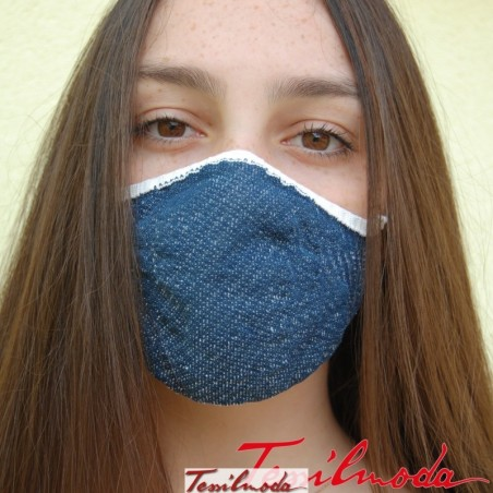 Q-Evolution Mask effetto jeans fronte