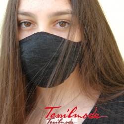 Q-Evolution Mask total Black fronte