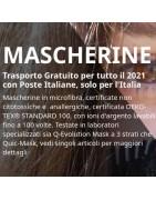 Mascherine lavabili unisex | tessilmoda made in italy